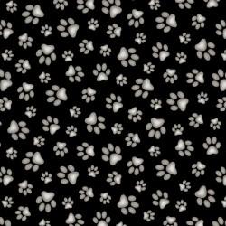 Paw Print - BLACK
