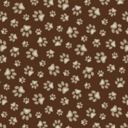 Paw Print - BROWN