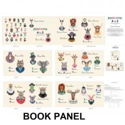Book Panel - Zootopia 90cm - MULTI