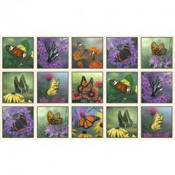 Panel - Butterflies 60cm - CREAM