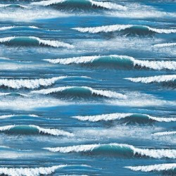Waves Breaking - BLUE