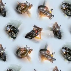 Motorbikes - BLUE