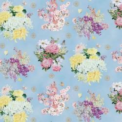 Multi Flowers - BLUE