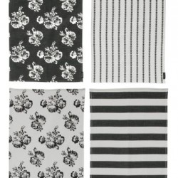 "URBAN COTTAGE TOWELS (SET OF 4) 17"" x 28"""