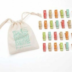 MINI CLOTHESPINS  - FOR GOOD MEASURE BRIGHTS(26)