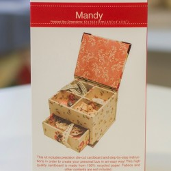 RS Mandy-Box with Drawer (9x10.5x11.5cm)