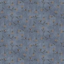 Flower Latice - BLUE