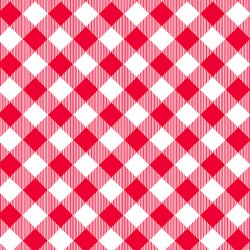 Plaids - RED/WHITE