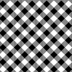 Plaids - BLACK/WHITE