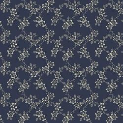 Tiny Flower Calico - BLUE