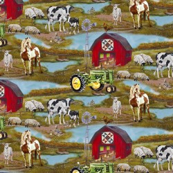 Farm Scene - GREEN