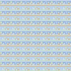 Novelty Stripe Animals - BLUE