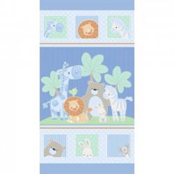 Panel - Little Peepers 60cm - BLUE