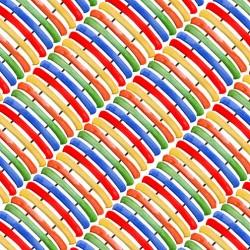 Diagonal Rows of Canoe - MULTI