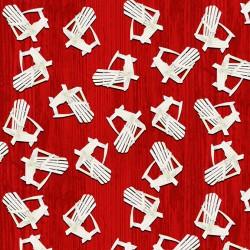 Chair Toss - RED