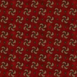 Curved Pinwheel - RED