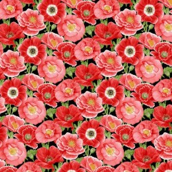 Large Poppies - RED