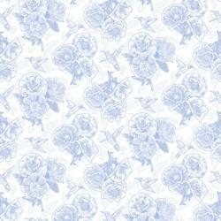 Poppy Linework - BLUE