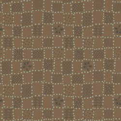 SQUARE PATCH - BROWN