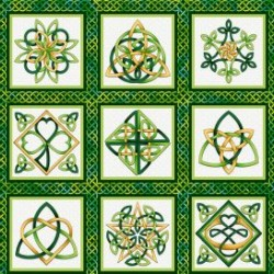 "CELTIC KNOT BLOCKS (7""X7"")"
