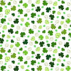 SHAMROCKS - WHITE