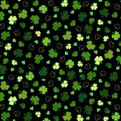 SHAMROCKS - BLACK