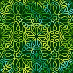 CELTIC KNOT TEXTURE - EMERALD