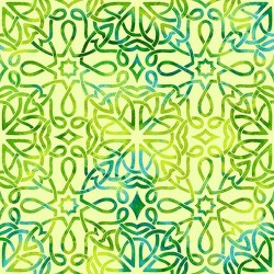 CELTIC KNOT TEXTURE - GREEN