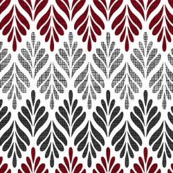 Chevron Fern - WHITE MULTI