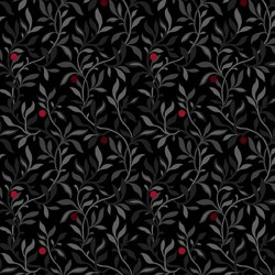Berry Vine - BLACK MULTI