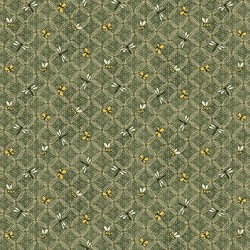 Flower Lattice - GREEN
