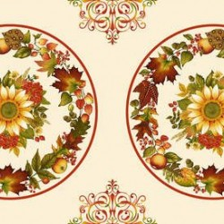 Autumn Placemat Panel (60cm)