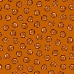 Circle Dots - PUMPKIN