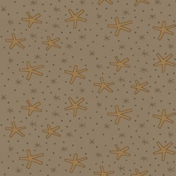 LGE SNOWFLAKES - TAUPE