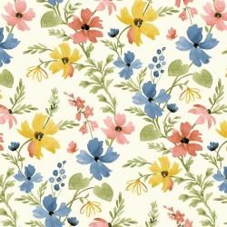 Floral - CREAM