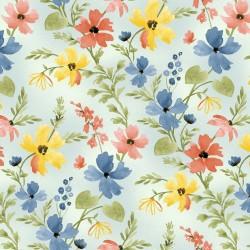 Floral - BLUE