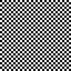 Checker - BLACK
