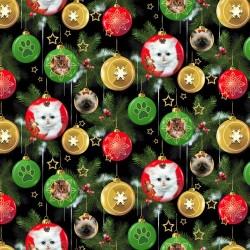 Kitten Ornaments - BLACK