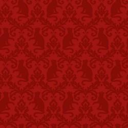 Damask - RED