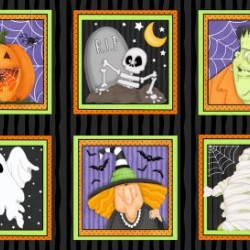 Halloween Glow in Dark Panel (60cm)