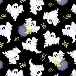 Ghosts Glow in Dark - BLACK