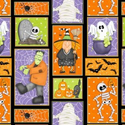 Halloween Patches Glow in Dark - MULTI