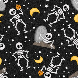 Skeleton Glow in Dark - BLACK
