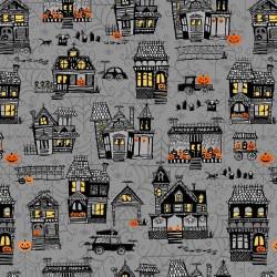 Small Town Scene - GRAY