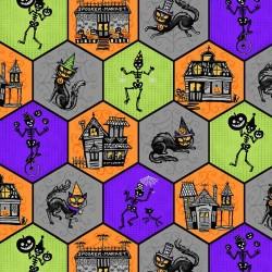 Halloween Honeycommb - MULTI