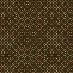 Dotted Hexies - BROWN