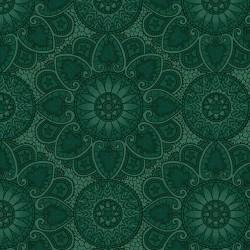 Autumn Mandala - TEAL