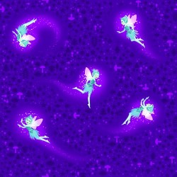 Multicolour Flying Fairies - PURPLE