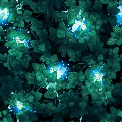 Hiding Fairies - BLACK/GREEN