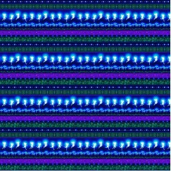 Novelty Stripe Fairies Glow - MULTI